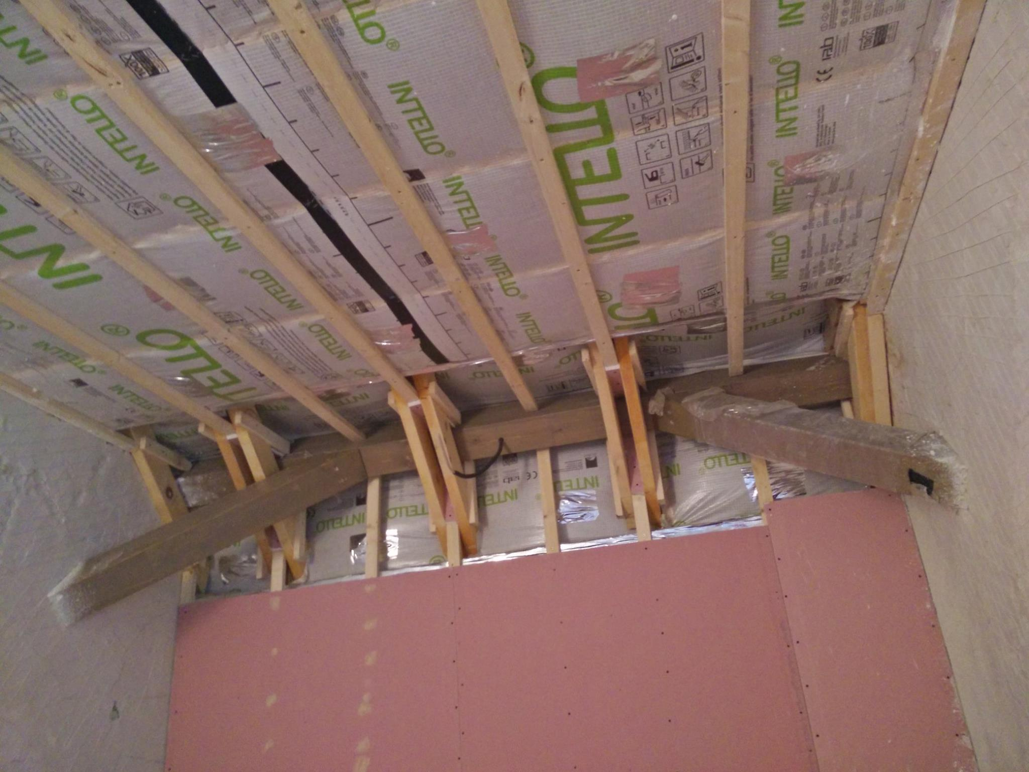 Case din lemn pasive cu izolatie din baloti de paie si celuloza