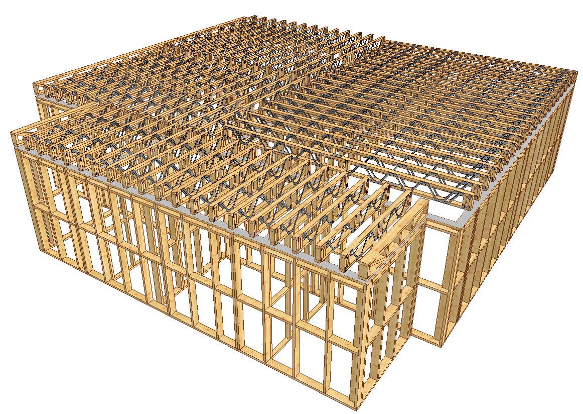 Planseu din lemn Posi Struit