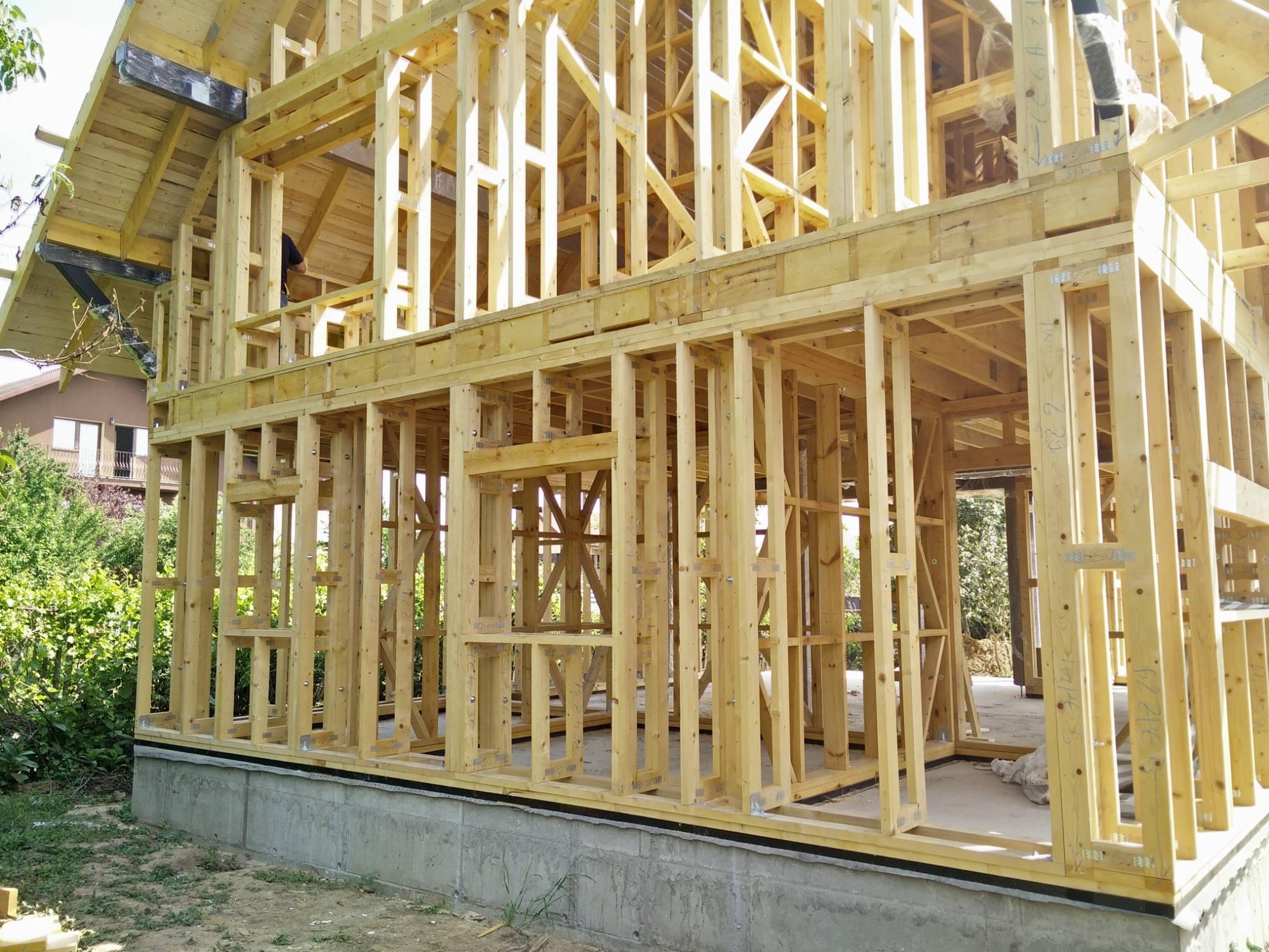 Case din lemn ecologice