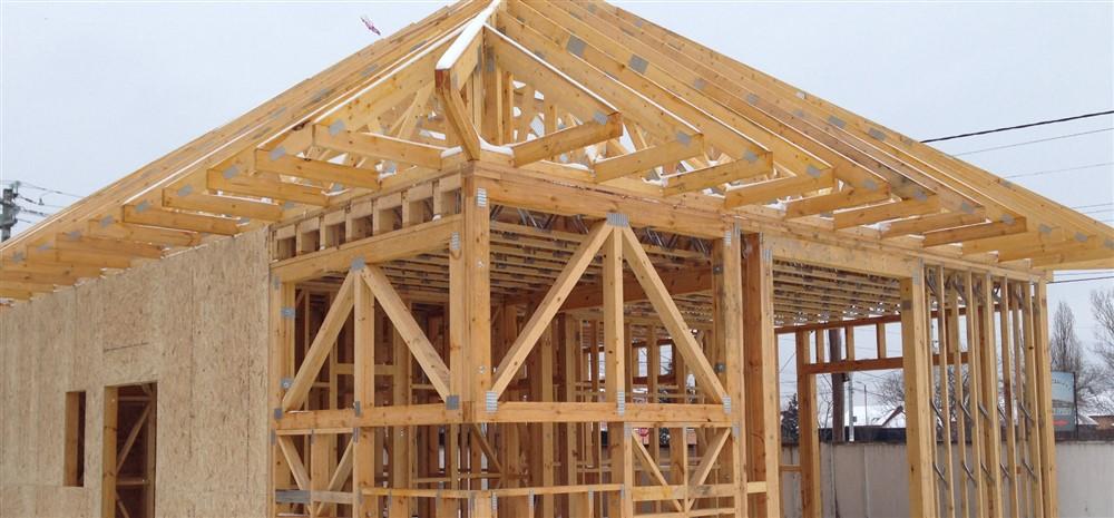 casa de lemn prefabricata